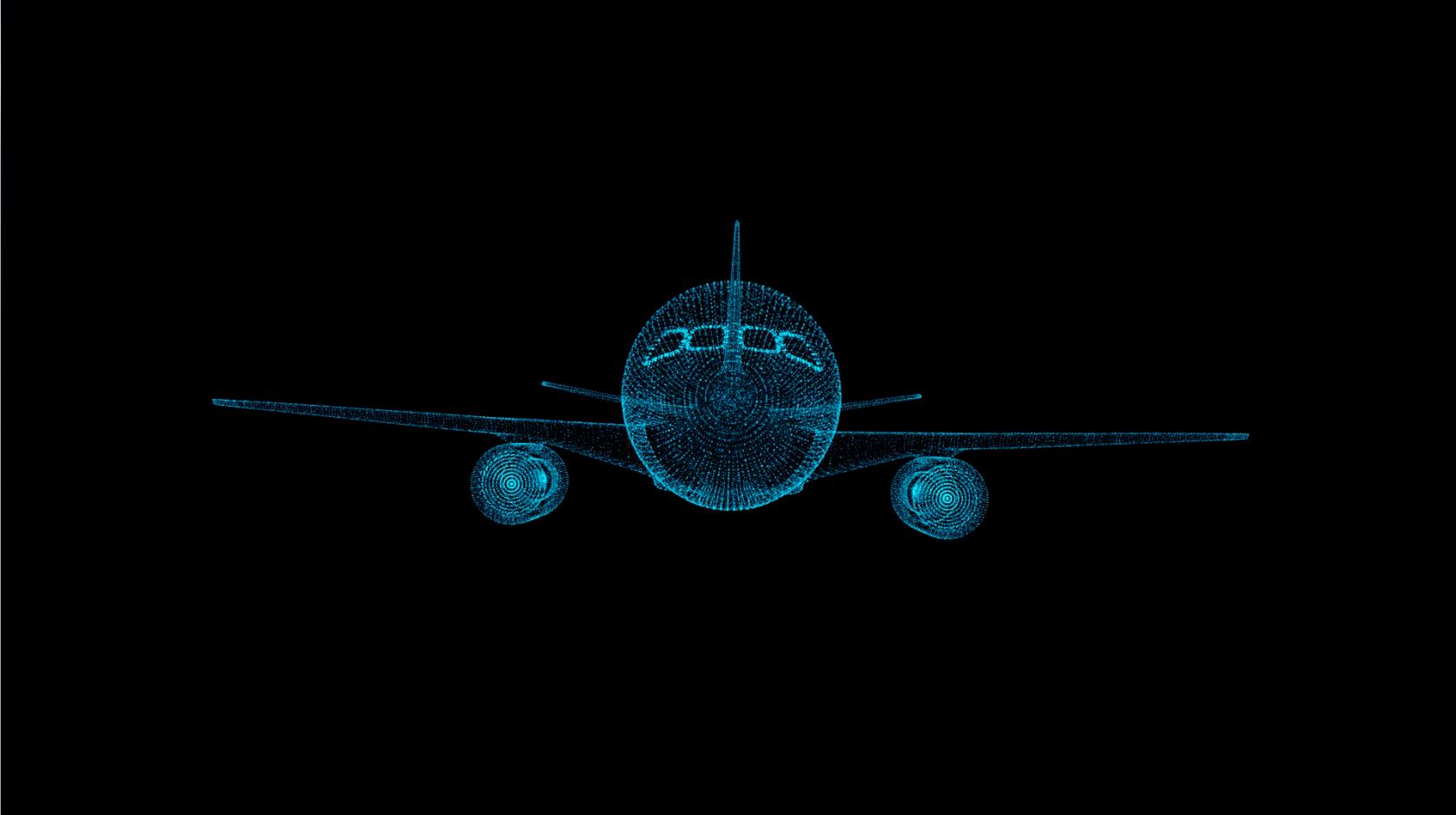 虚拟飞机模型