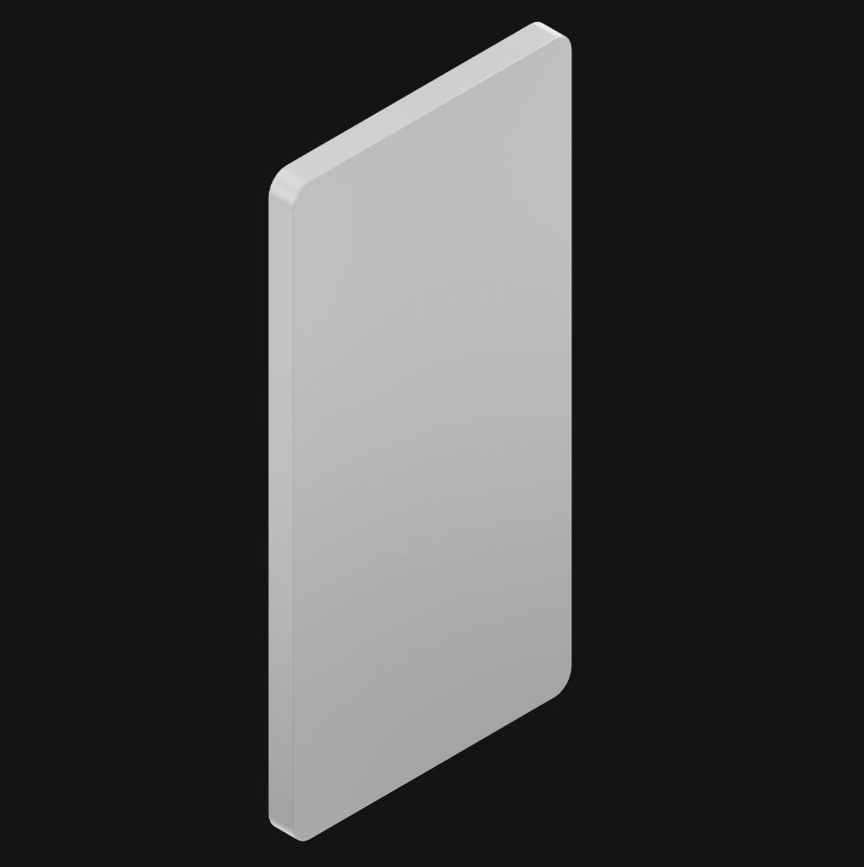 长方形模版
