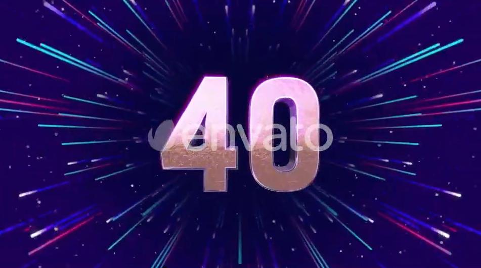 AE模板-2021新年活动晚会公司年会开场倒计时片头 New Year Countdown