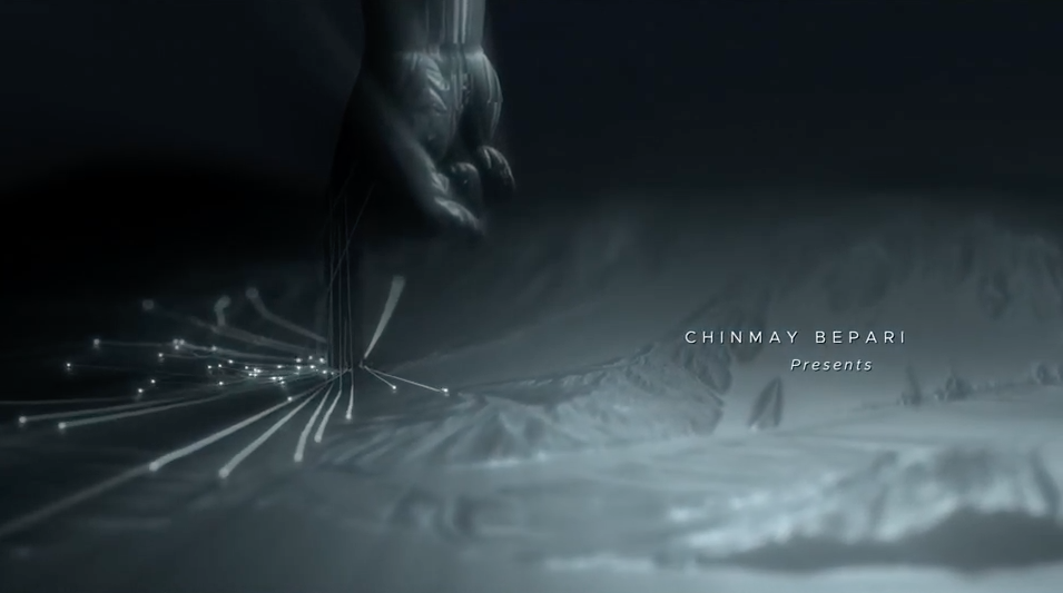 AE模板-震撼大气点线粒子线条飞行穿梭文字标题开场介绍 Epic Cinematic Title