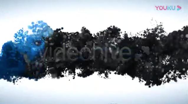 AE模板-光效粒子汇聚LOGO标志片头 Glossy Particle Logo