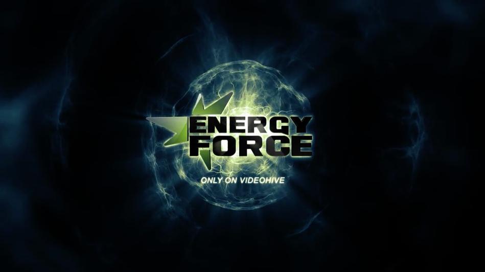 AE模板:抽象能量穿梭光效LOGO标志展示 Energy Force – Logo Intro