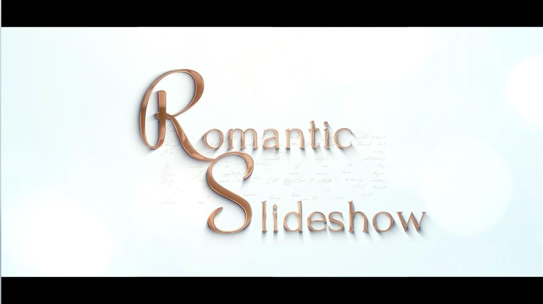 AE模板-浪漫甜蜜爱情故事水墨幻灯片风格电子相册展示 Romantic Slideshow
