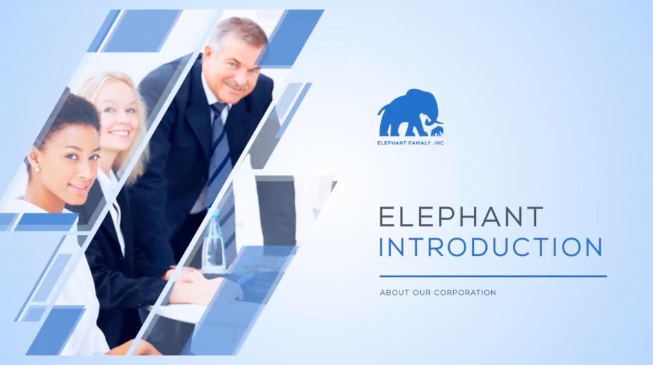 AE模板:现代简洁公司企业团队业务文化展示宣传包装 Clean Business Company Profile